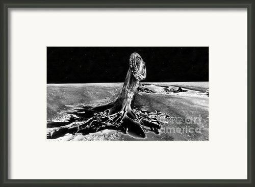 First Men On The Moon Framed Print By David Lee Thompson