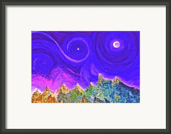 First Star Sunrise Framed Print By First Star Art