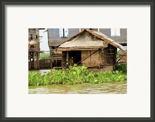 Fisherman Boat House Framed Print By Artur Bogacki