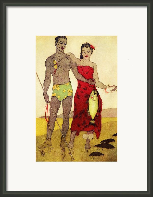 Fisherman Framed Print By Hawaiian Legacy Archives - Printscapes