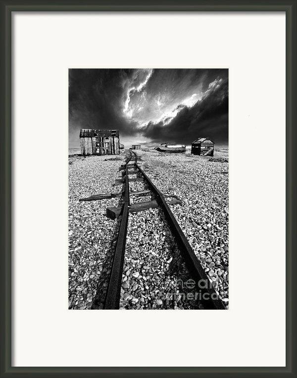 Fishing Boat Graveyard 6 Framed Print By Meirion Matthias