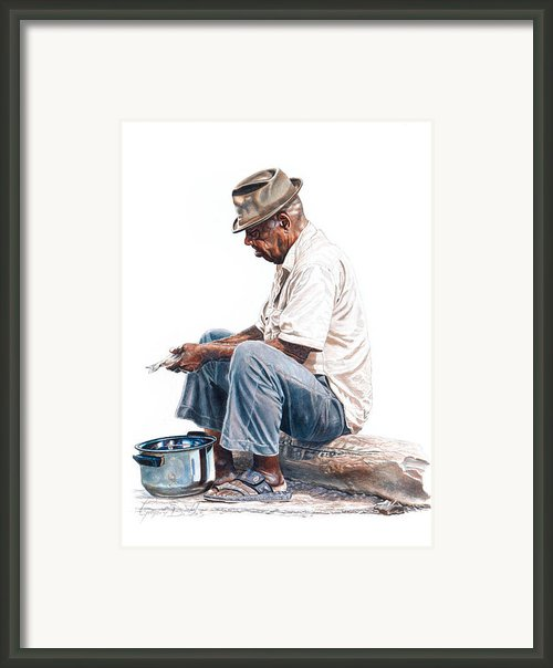 Fishy Business Framed Print By Gregory Jules