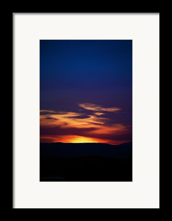 Flame Out  Framed Print By Kevin Bone