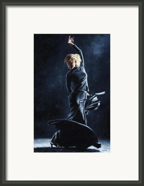 Flamenco Dexterity Framed Print By Richard Young