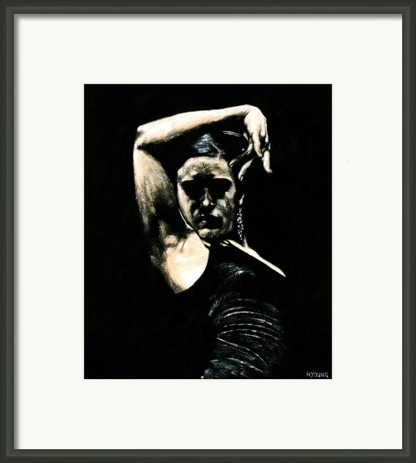 Flamenco Soul Framed Print By Richard Young