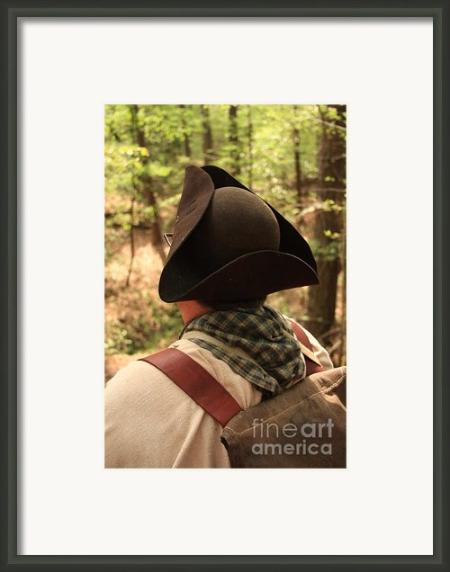 Flash Back Framed Print By Kim Henderson