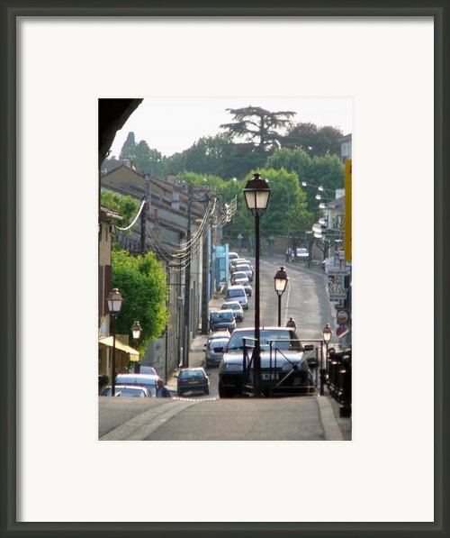 Fleurance City Framed Print By Dagmar Ceki