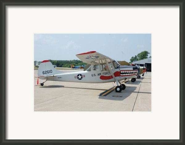 Flight Line Framed Print By Jame Hayes