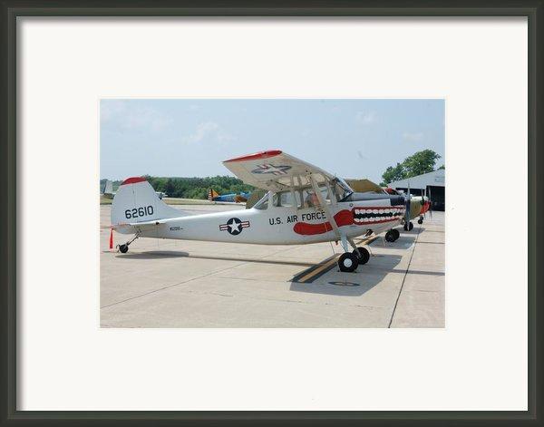 Flight Line Framed Print By Jame Hayes
