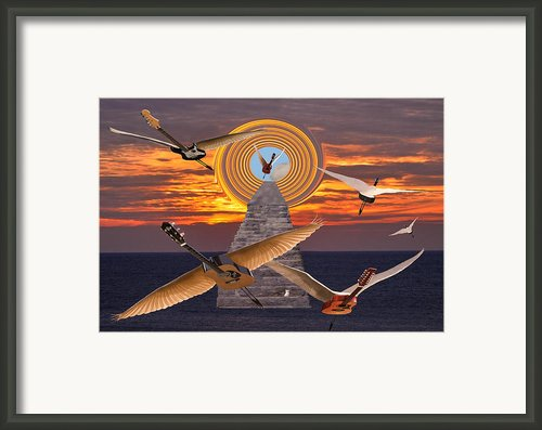 Flight Of The Guitars Framed Print By Eric Kempson