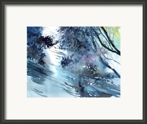 Flooding Framed Print By Anil Nene