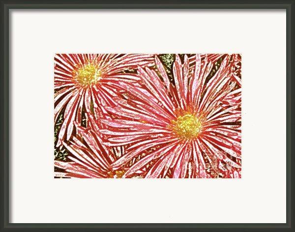 Floral Design No 1 Framed Print By Ben And Raisa Gertsberg