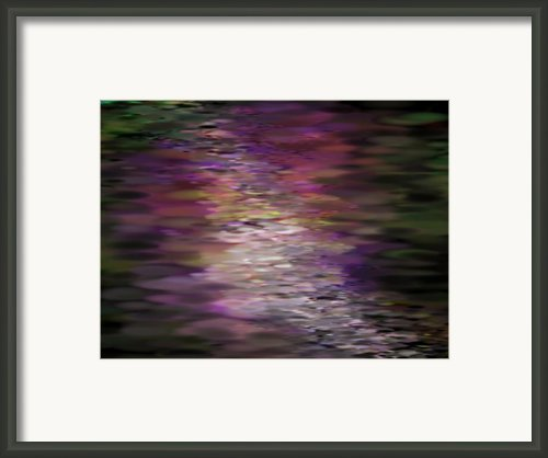 Floral Reflections Framed Print By Sandra Bauser Digital Art