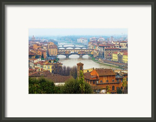 Florence Italy Framed Print By Photography By Spintheday