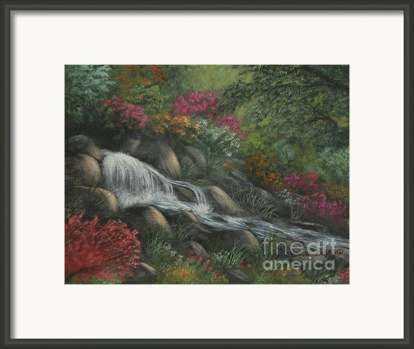 Flowing Waters Framed Print By Kristi Roberts