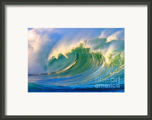 Fluid Combustion Framed Print By Paul Topp