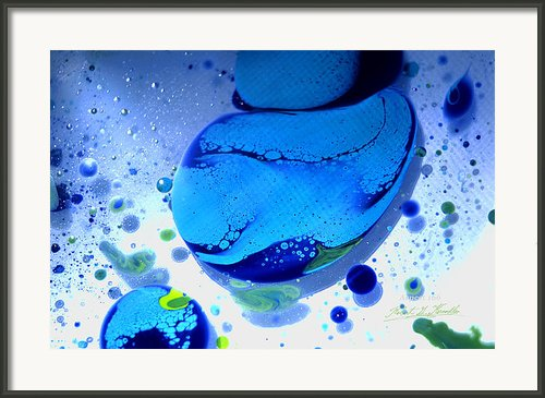 Fluidism Aspect 166 Photography Framed Print By Robert G Kernodle