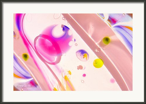 Fluidism Aspect 561 Photography Framed Print By Robert G Kernodle