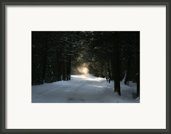 Flying Angel No.2 Framed Print By Neal  Eslinger