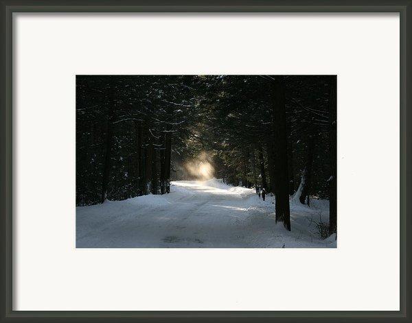 Flying Angel No.2 Framed Print By Neal  Eslinger