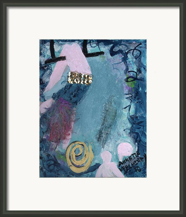 Flying Without A Net Framed Print By Annette Mcelhiney