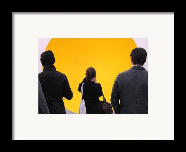 Focal Point Framed Print By Nina Mirhabibi