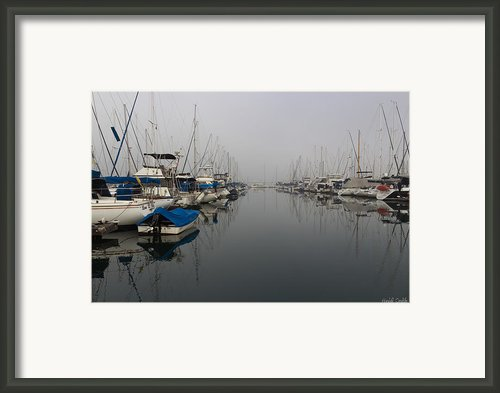 Foggy Morn Framed Print By Heidi Smith