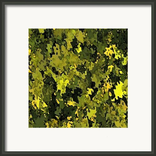 Foliage Framed Print By Hema Rana