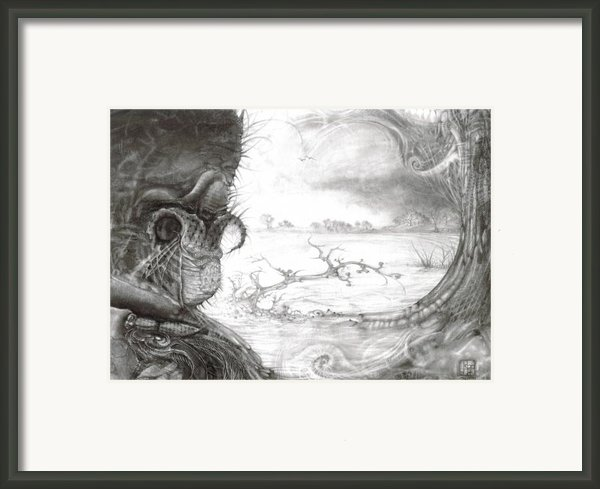 Fomorii Swamp Framed Print By Otto Rapp