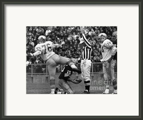 Football Game, 1965 Framed Print By Granger