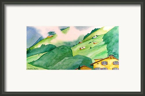 Foothills Of Au Framed Print By Scott Nelson