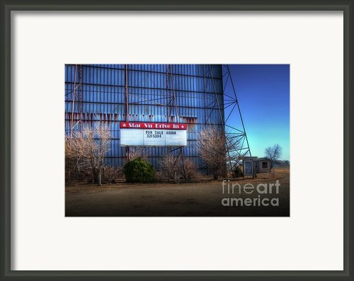 For Sale Again Framed Print By Fred Lassmann