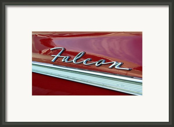 Ford Falcon Framed Print By David Lee Thompson