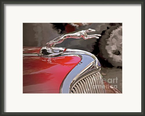 Ford Hound Framed Print By Gwyn Newcombe