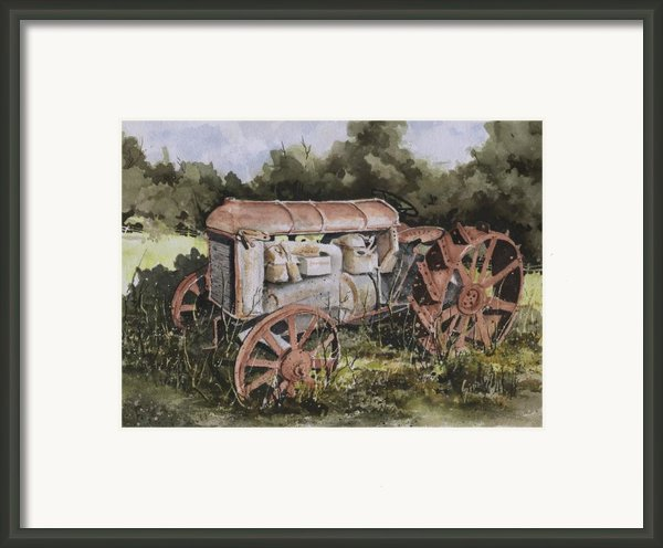 Fordson Model F Framed Print By Sam Sidders