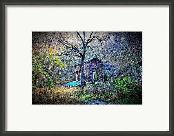 Forgotten Lot Framed Print By Dan Stone