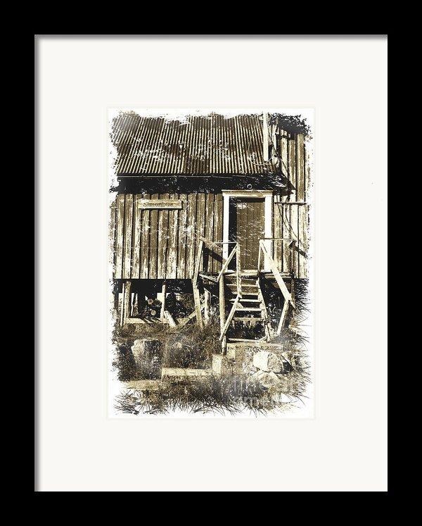 Forgotten Wooden House Framed Print By Heiko Koehrer-wagner