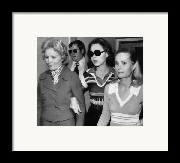 Former First Lady Patricia Nixon Framed Print By Everett