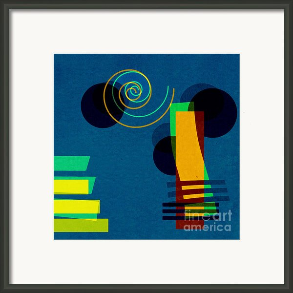 Formes - 03b Framed Print By Variance Collections