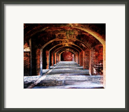 Fort Jefferson Framed Print By Perry Webster