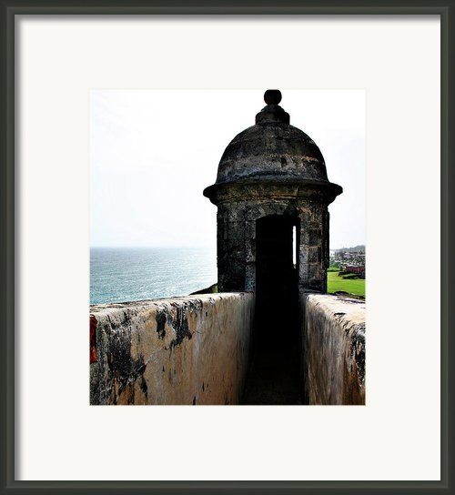 Fort San Juan Lookout Framed Print By Gilbert Artiaga