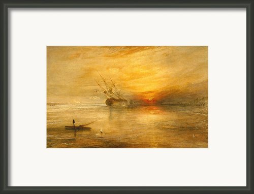 Fort Vimieux Framed Print By Joseph Mallord William Turner