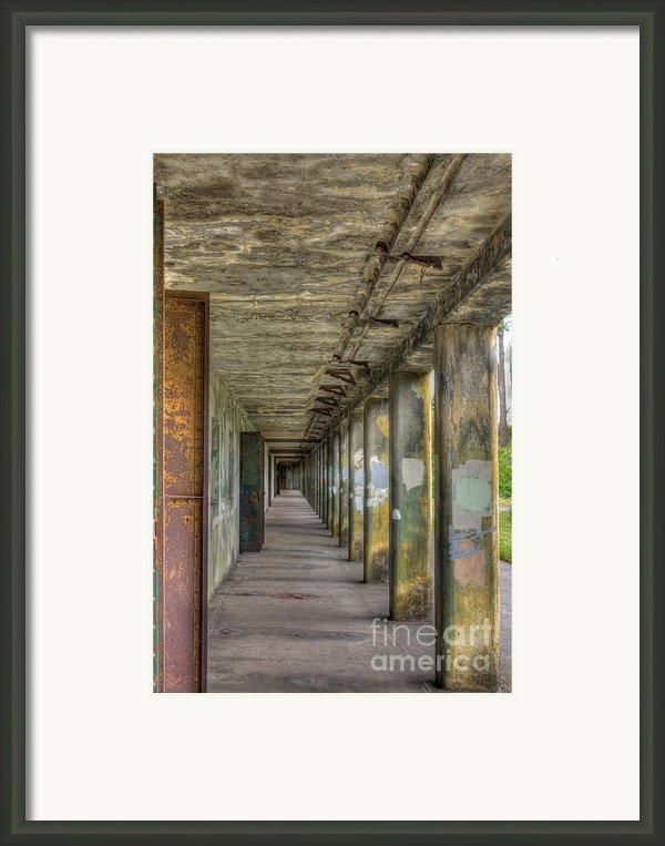 Fort Worden Washington State Park Framed Print By Larry Whiting