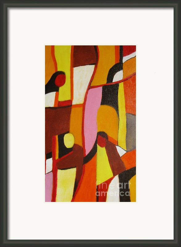 Four Women Framed Print By Nedunseralathan R