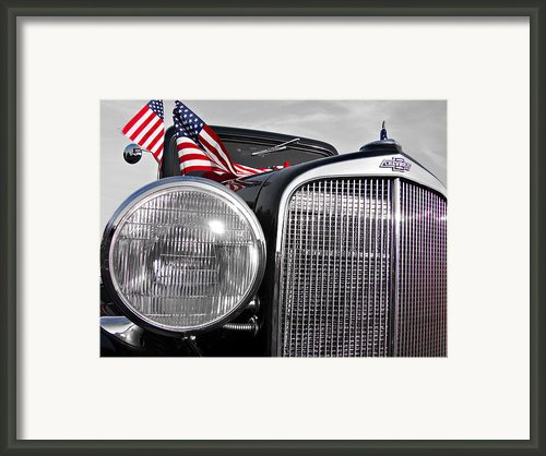 Fourth Of July-chevvy  Framed Print By Douglas Barnard