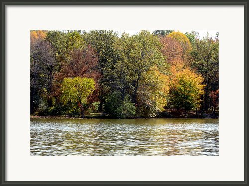 Fowler Lake 4 Framed Print By Franklin Conour
