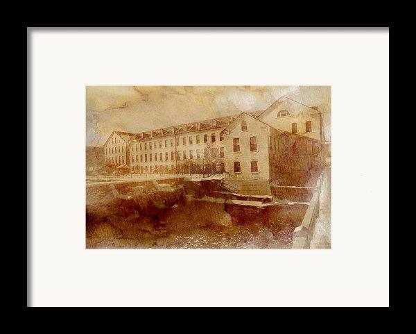 Fox River Mills Framed Print By Joel Witmeyer