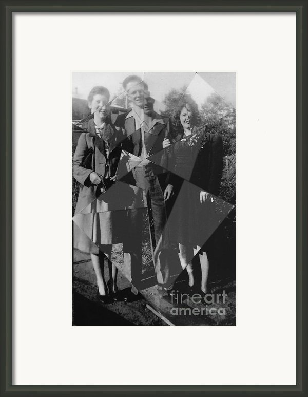 Fractured Family Framed Print By Joanne Kocwin