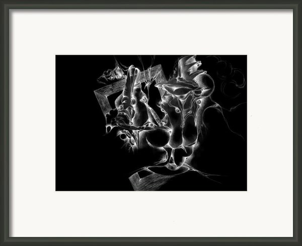 Framed Inverted Framed Print By Bodhi
