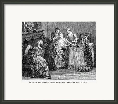 France: Daily Life Framed Print By Granger